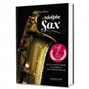 Livre Adolphe Sax
